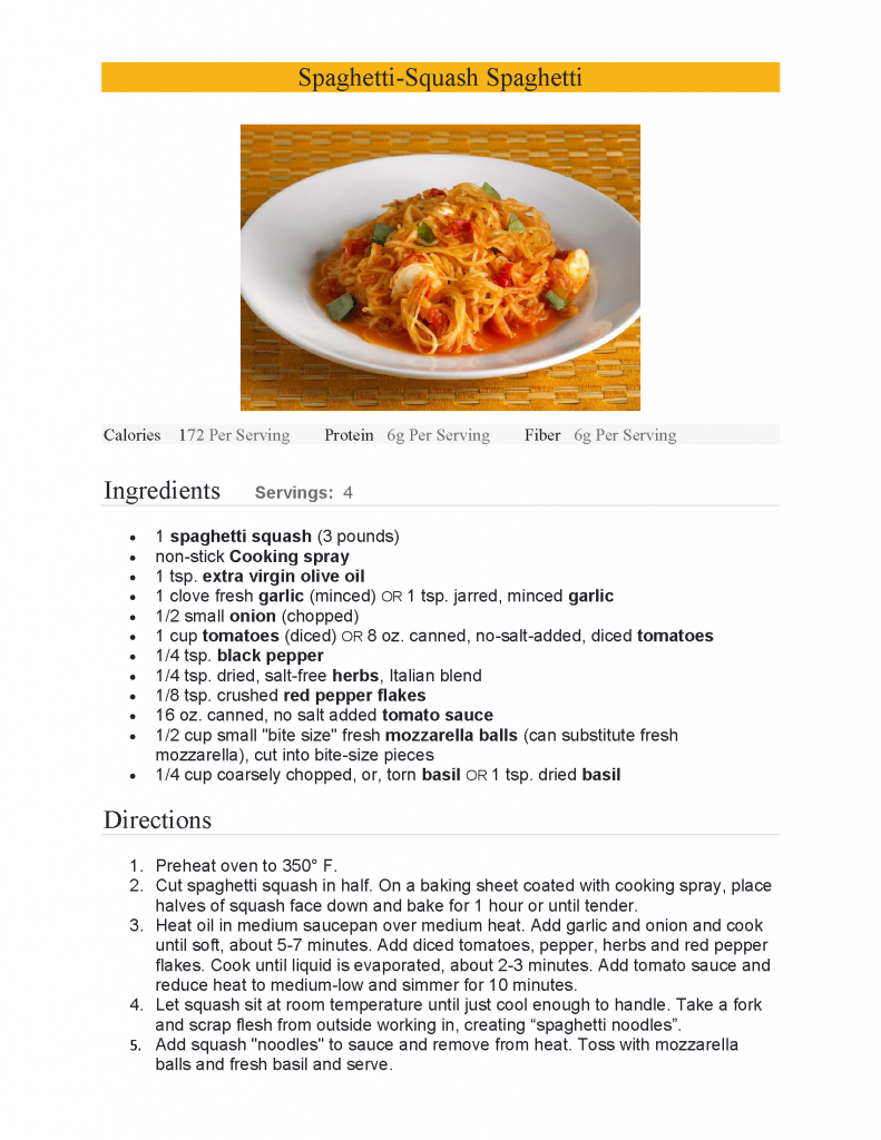 American Heart Month recipe-Morris Hasson, md
